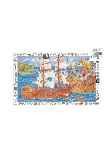 Djeco Djeco Puzzle / Pirates - 100 Pcs Pembe